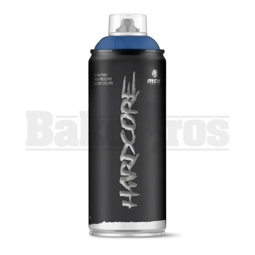 MONTANA COLORS HARDCORE SPRAY CAN PAINT 400ML BABYLON BLUE Pack of 1