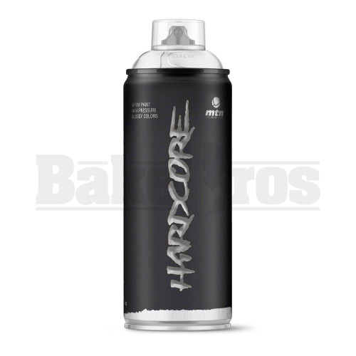 MONTANA COLORS HARDCORE SPRAY CAN PAINT 400ML MATTE WHITE Pack of 1