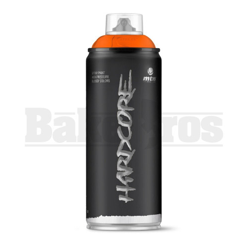 MONTANA COLORS HARDCORE SPRAY CAN PAINT 400ML ORANGE Pack of 1