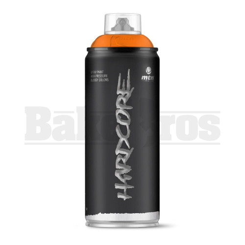 MONTANA COLORS HARDCORE SPRAY CAN PAINT 400ML MANGO Pack of 1