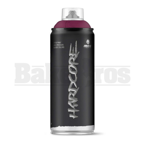 MONTANA COLORS HARDCORE SPRAY CAN PAINT 400ML CHERRY Pack of 1