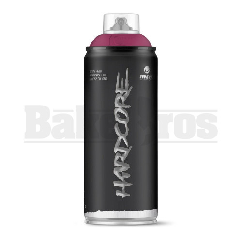 MONTANA COLORS HARDCORE SPRAY CAN PAINT 400ML PURPLE Pack of 1