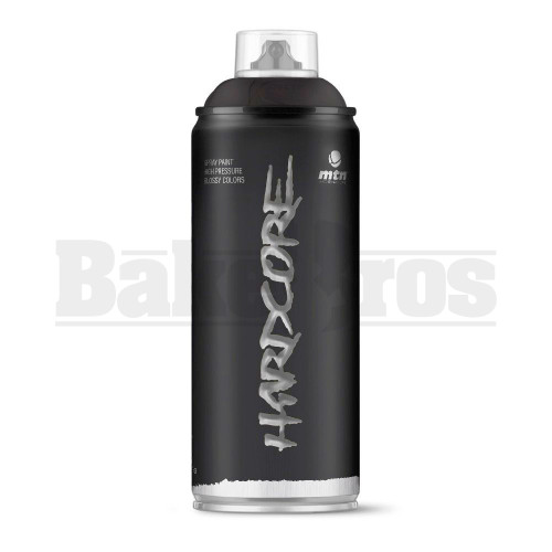 MONTANA COLORS HARDCORE SPRAY CAN PAINT 400ML BLACK Pack of 1