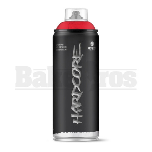 MONTANA COLORS HARDCORE SPRAY CAN PAINT 400ML MADRID RED Pack of 1
