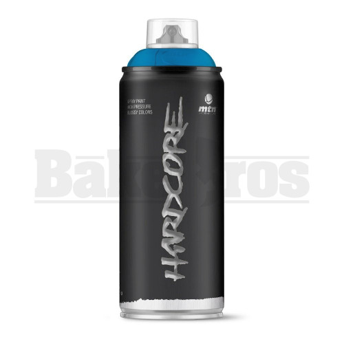 MONTANA COLORS HARDCORE SPRAY CAN PAINT 400ML ELECTRIC BLUE Pack of 1