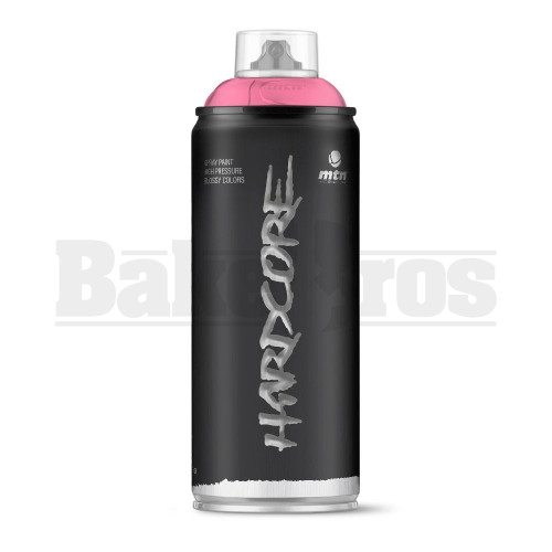 MONTANA COLORS HARDCORE SPRAY CAN PAINT 400ML LOVE PINK Pack of 1