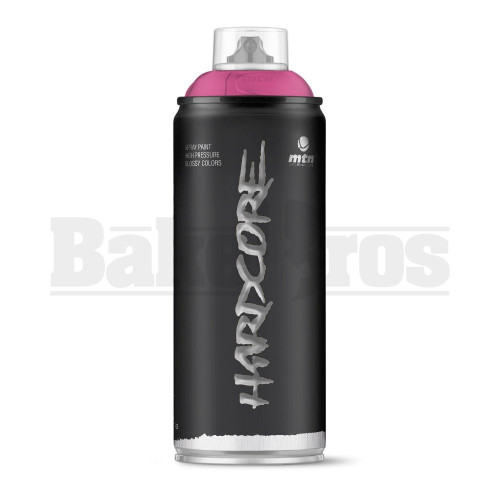 MONTANA COLORS HARDCORE SPRAY CAN PAINT 400ML GEISHA VIOLET Pack of 1