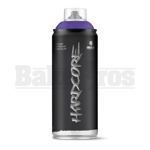 MONTANA COLORS HARDCORE SPRAY CAN PAINT 400ML BLUE VIOLET Pack of 1