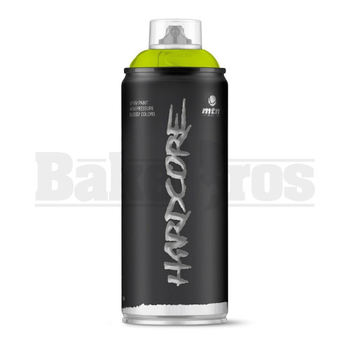 MONTANA COLORS HARDCORE SPRAY CAN PAINT 400ML MOJITO GREEN Pack of 1