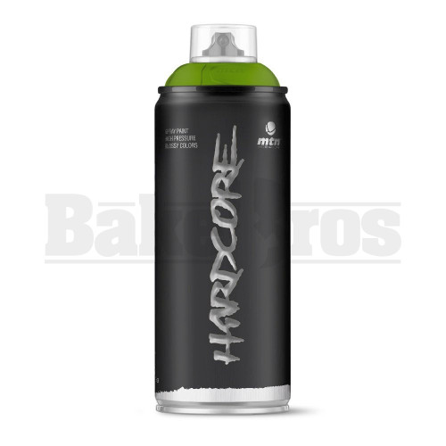 MONTANA COLORS HARDCORE SPRAY CAN PAINT 400ML COLOGNO N. GREEN Pack of 1