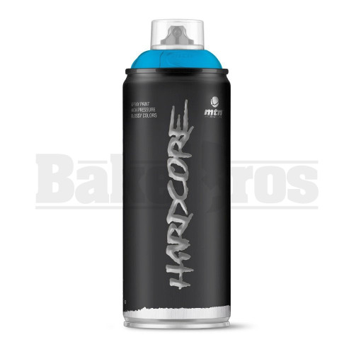 MONTANA COLORS HARDCORE SPRAY CAN PAINT 400ML AVATAR BLUE Pack of 1