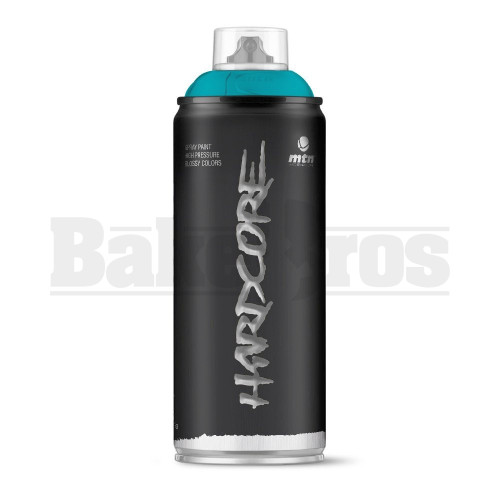 MONTANA COLORS HARDCORE SPRAY CAN PAINT 400ML GLACIER BLUE Pack of 1