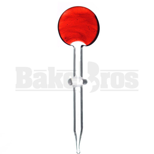 DUSTORM ADVENTURES LOLLIPOP DAB TOOL CARVING DIP STICK RED ELVIS 4.5""