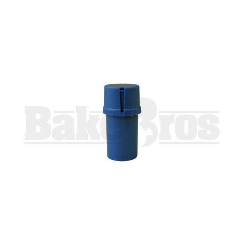 "MEDTAINER CONTAINER GRINDER 3 PIECE 3.5"" SOLID BLUE Pack of 1"