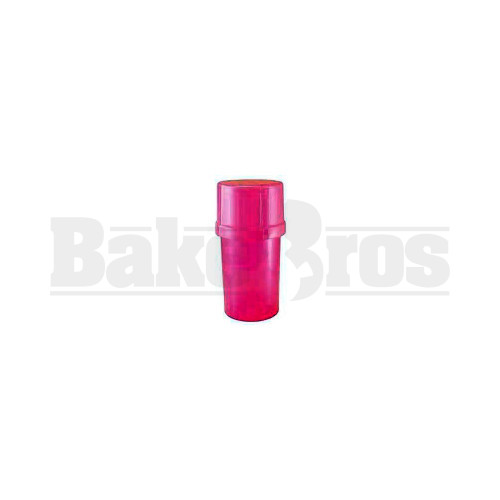 "MEDTAINER CONTAINER GRINDER 3 PIECE 3.5"" SOLID PINK Pack of 1"