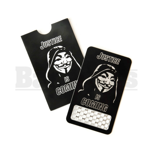 V SYNDICATE GRINDER CARD COLOR COLLECTION ANONYMOUS Pack of 1