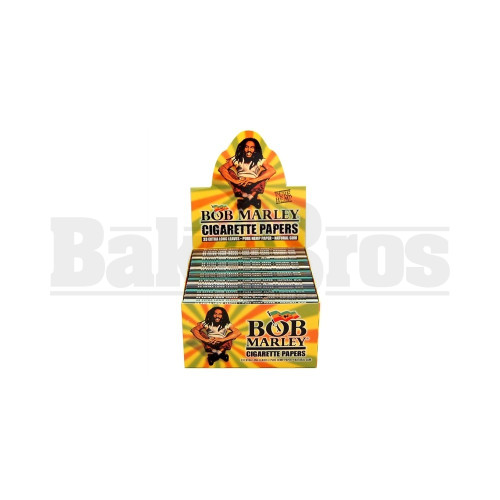 BOB MARLEY ROLLING PAPERS KING SIZE 50 LEAVES UNFLAVORED Pack of 1