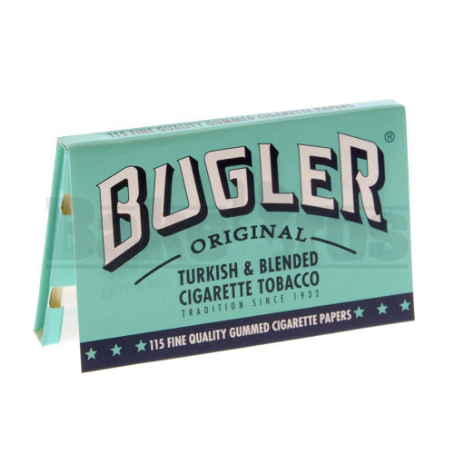 BUGLER ROLLING PAPERS SW 115 LEAVES UNFLAVORED Pack of 6