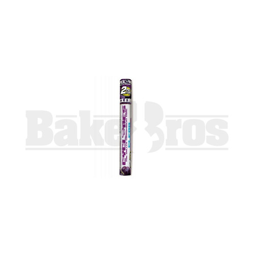 CYCLONES PRE ROLLED CONES CLEAR GRAPE Pack of 6