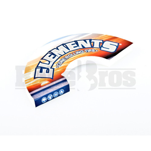 ELEMENTS CONE TIPS PERFECTO 34 TIPS UNFLAVORED Pack of 9