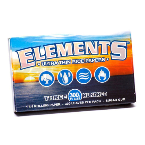 ELEMENTS ROLLING PAPERS 300 300 LEAVES UNFLAVORED Pack of 1