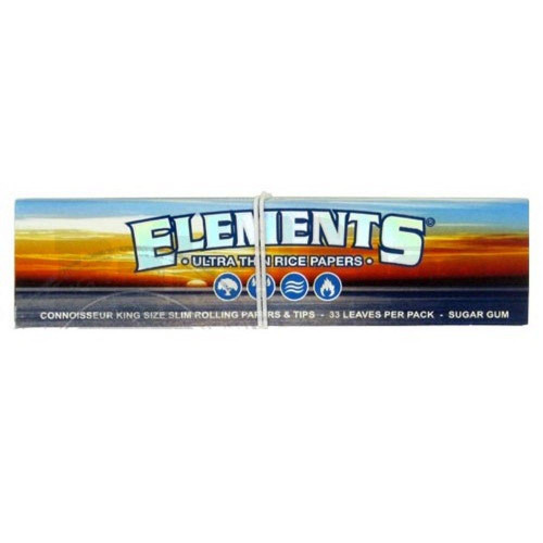 ELEMENTS ROLLING PAPERS 50 LEAVES UNFLAVORED Pack of 1
