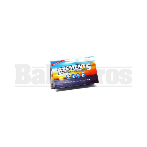 ELEMENTS ROLLING PAPERS DOUBLE PACK 100 LEAVES UNFLAVORED Pack of 1