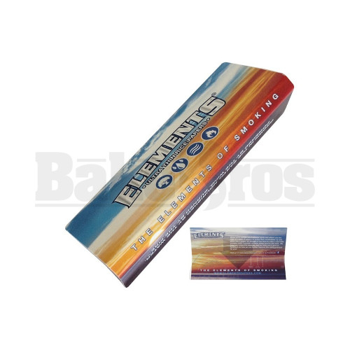 ELEMENTS SCOOP CARD FOR ROLLING PAPERS UNFLAVORED Pack of 12