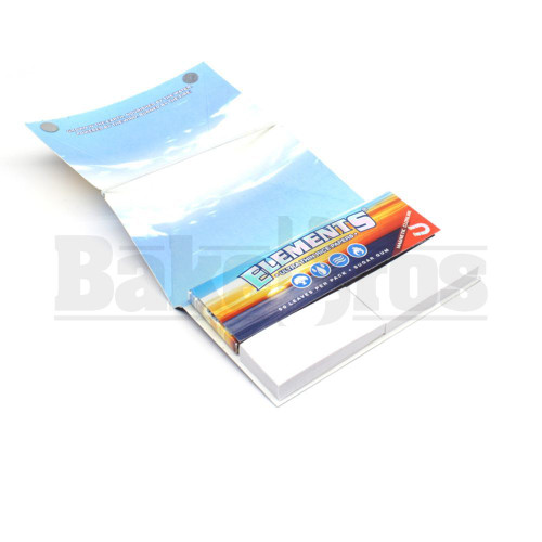 ELEMENTS ULTRA THIN RICE PAPERS ARTESANO 1 1/4 50 LEAVES UNFLAVORED Pack of 3