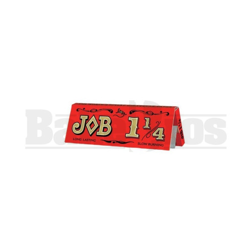 JOB ROLLING PAPERS ULTRA THIN CIGARETTE PAPER 1 1/4 24 PER PACK UNFLAVORED Pack of 6