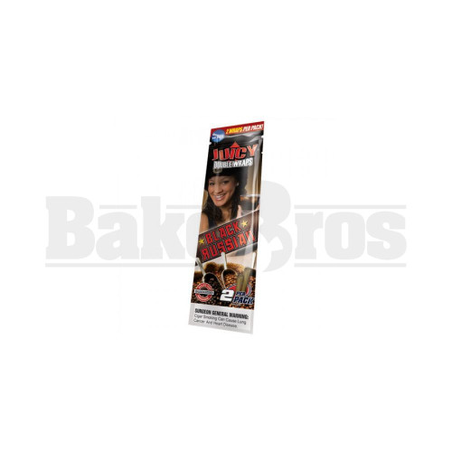 JUICY JAY'S DOUBLE 2 WRAPS BLACK RUSSIAN Pack of 1