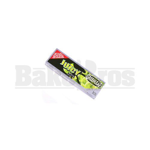 JUICY JAY'S FLAVORED PAPERS 1 1/4 32 LEAVES SUPERFINE GREENLEAF Pack of 1