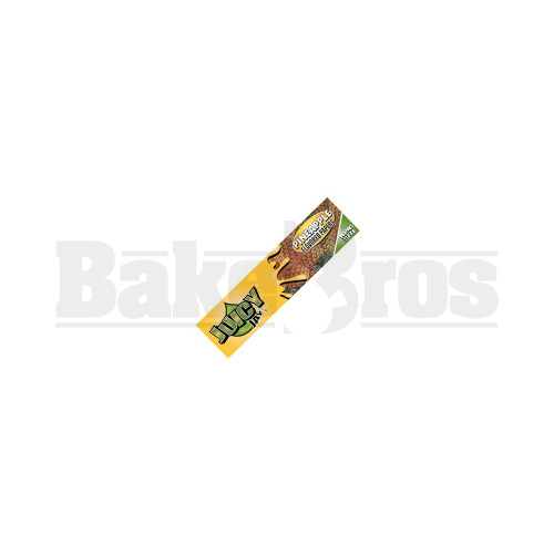 JUICY JAY'S FLAVORED PAPERS 32 LEAVES KINGSIZE PINEAPPLE Pack of 6