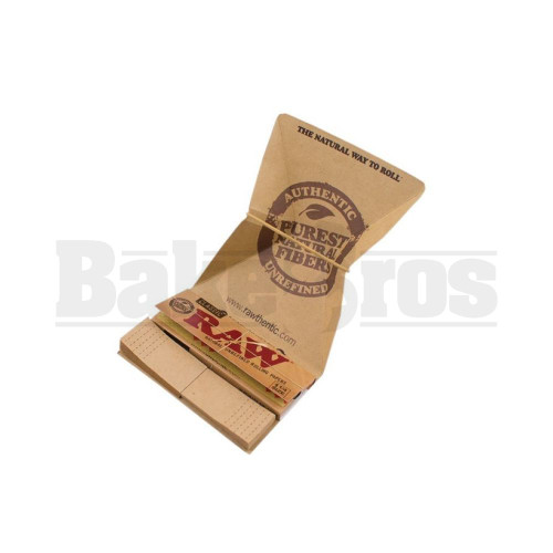RAW ROLLING PAPERS CLASSIC 1 1/4 SIZE 50 LEAVES ARTESANO UNFLAVORED Pack of 1