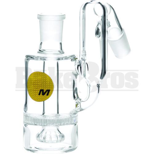 Maverick Ashcatcher Honeycomb Showerhead Recycler Bodybowl 45* Angle Clear Male 14mm