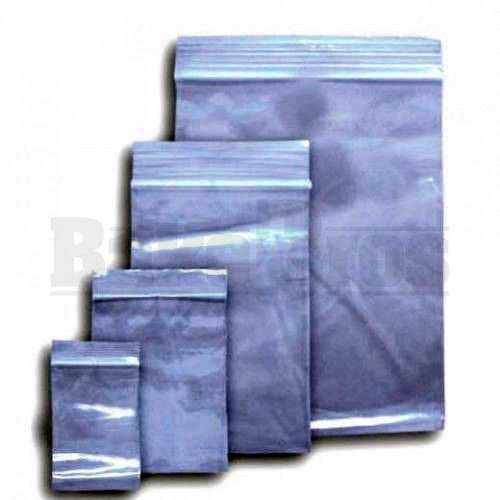 "APPLE BAGS BAGGIES 1212 1/2"" x 1/2"" CLEAR Pack of 1 100 Per Pack"