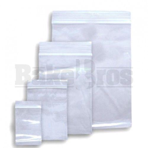 "APPLE BAGS BAGGIES 12510 1 1/4"" x 1"" CLEAR Pack of 1 100 Per Pack"