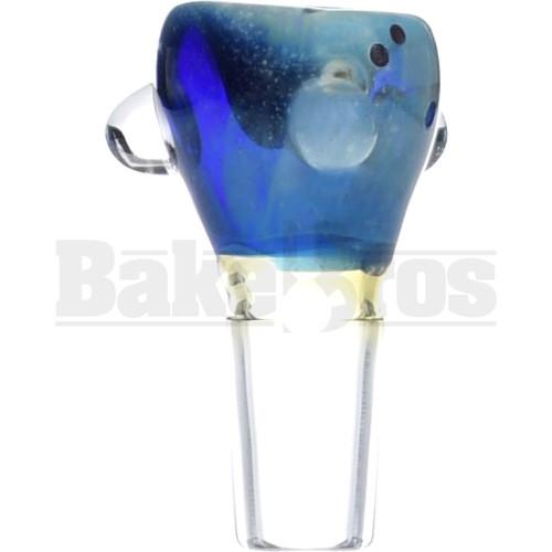 SAN DIEGO BORO GLASS BOWL SPACE GALAXY MILKY WAY BLUE 14MM