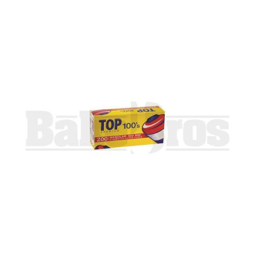 TOPS PREMIUM 100S CIGARETTE FILTER TUBE 100MM 200PCS PER BOX UNFLAVORED Pack of 3