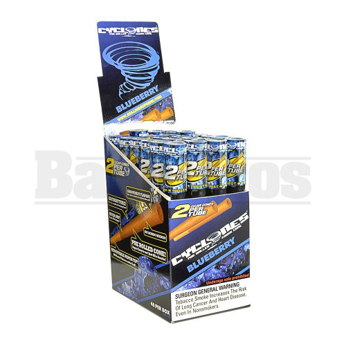 CYCLONES PRE ROLLED CONES BLUEBERRY Pack of 24