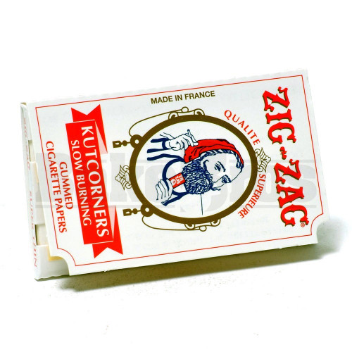 ZIG ZAG ROLLING PAPERS KUT CORNERS 32 LEAVES UNFLAVORED Pack of 6