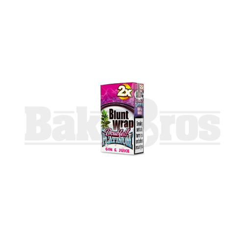 GIN & JUICE Pack of 25