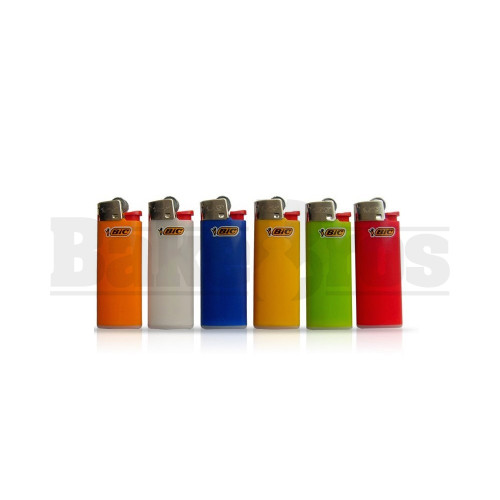 "BIC LIGHTER 2"" MINI SIZE ASSORTED COLORS Pack of 6"