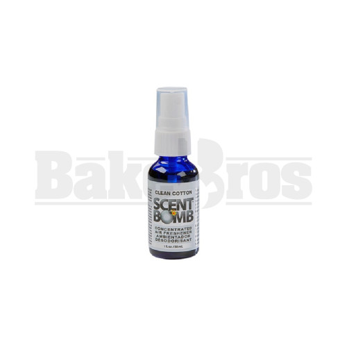 SCENT BOMB SPRAY 1 FL OZ Pack of 1 CLEAN COTTON