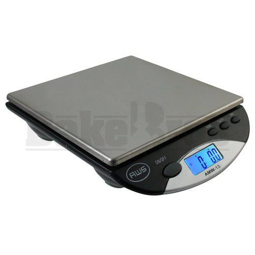 AWS BENCH SCALE PRECISION AMW SERIES 0.1g 500g BLACK