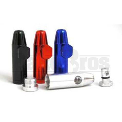 METAL SNUFF BULLET CONTAINER ASSORTED COLORS Pack of 50