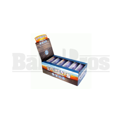 ELEMENTS ROLLING MACHINE BLUE Pack of 12 70MM