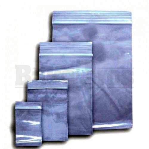 "APPLE BAGS BAGGIES 12510 1 1/4"" x 1"" CLEAR Pack of 10 1000 Per Pack"