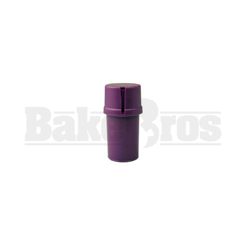 "MEDTAINER CONTAINER GRINDER 3 PIECE 3.5"" SOLID PURPLE Pack of 1"