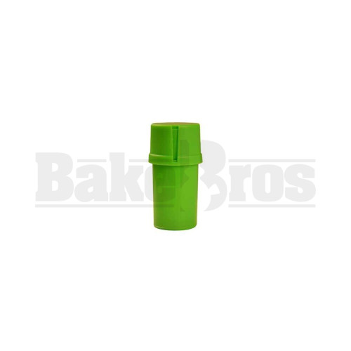 "MEDTAINER CONTAINER GRINDER 3 PIECE 3.5"" SOLID GREEN Pack of 1"